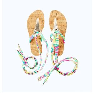 Brand New Lilly Pulitzer Harbor Sandals